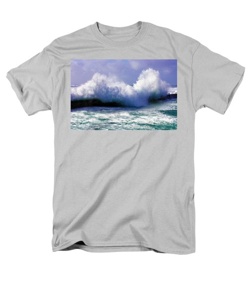 Wild Waves in Cornwall T-Shirt by Terri  Waters