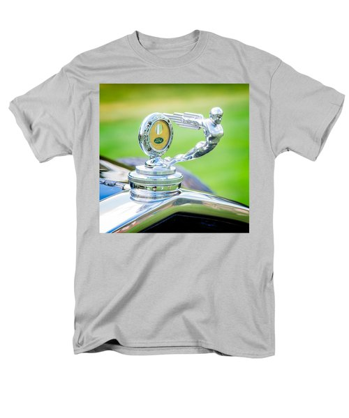 1931 Ford Model A Deluxe Fordor Hood Ornament T-Shirt by Sebastian Musial