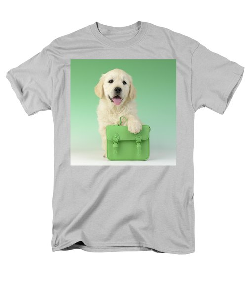 9 To 5 Labrador T-Shirt by Greg Cuddiford