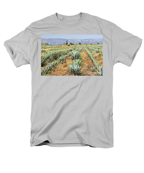 Agave cactus field in Mexico T-Shirt by Elena Elisseeva