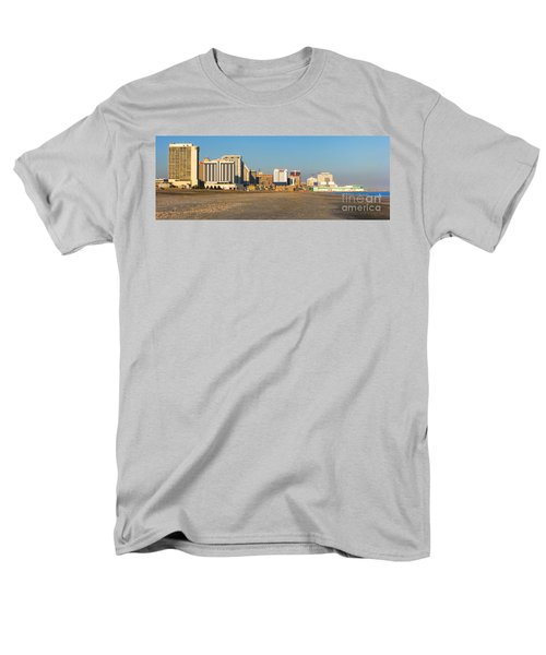 Atlantic City at Sunset T-Shirt by Olivier Le Queinec