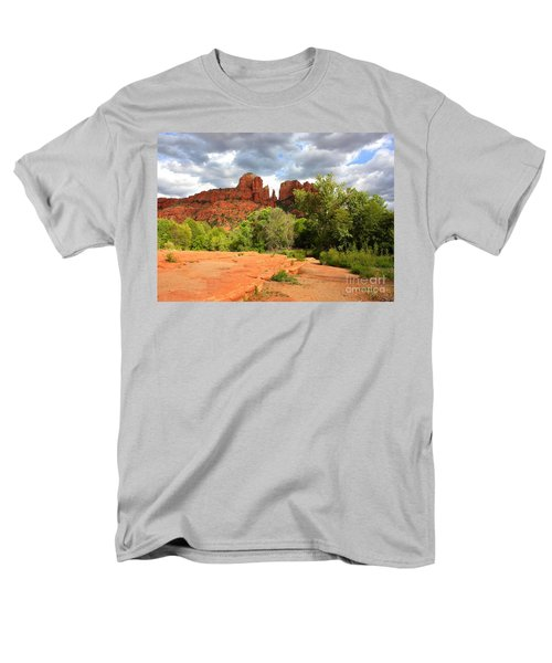 Balance at Cathedral Rock T-Shirt by Carol Groenen