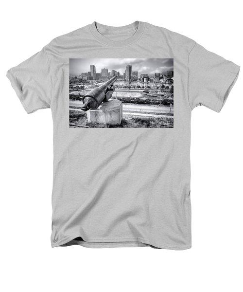 Baltimore Inner Harbor Skyline T-Shirt by Olivier Le Queinec