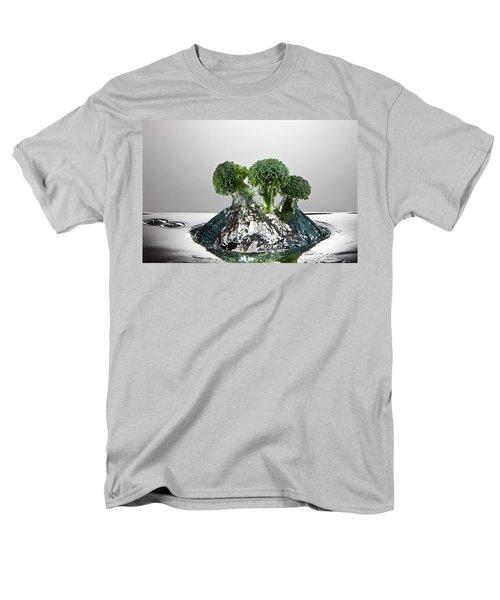 Broccoli Freshsplash Men's T-Shirt  (Regular Fit) by Steve Gadomski