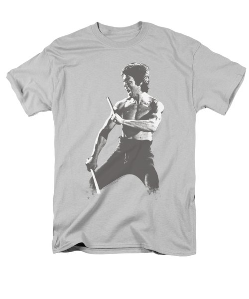 Bruce Lee - Chinese Characters Men's T-Shirt  (Regular Fit) by Brand A