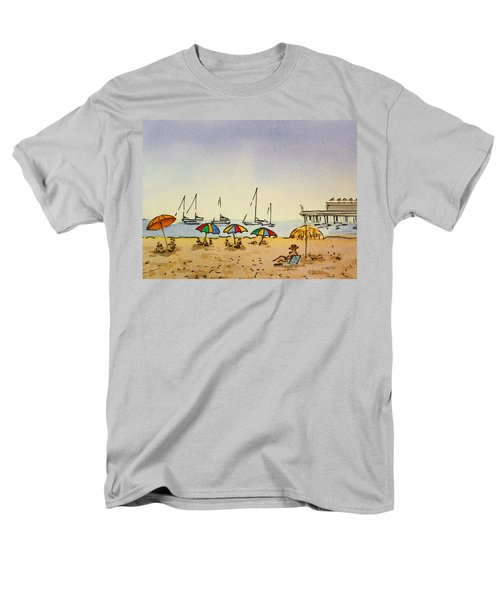 Capitola - California Sketchbook Project  T-Shirt by Irina Sztukowski