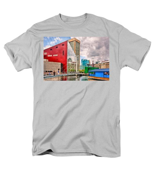 City - Baltimore MD - Harbor Place - Future City  T-Shirt by Mike Savad