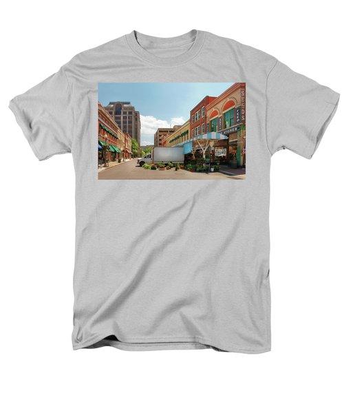 City - Roanoke VA - The City Market T-Shirt by Mike Savad