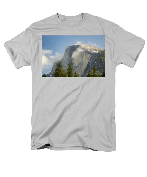 Clouds around Half Dome  T-Shirt by Jim and Emily Bush