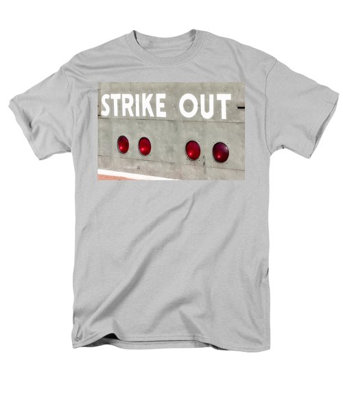 Fenway Park Strike - Out Scoreboard  T-Shirt by Susan Candelario