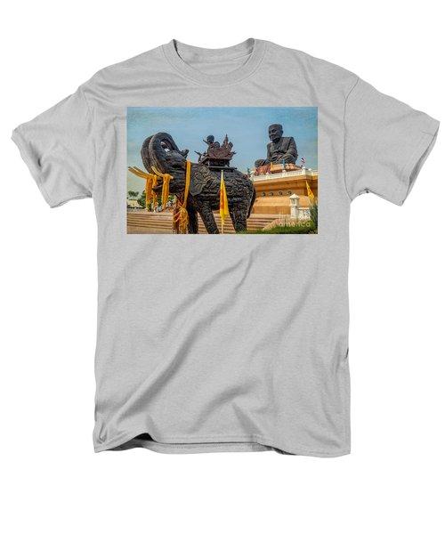 Huay Mongkol Temple  T-Shirt by Adrian Evans