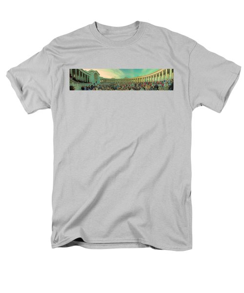 Memorial Amphitheater at Arlington National Cemetery T-Shirt by Tom Gari Gallery-Three-Photography
