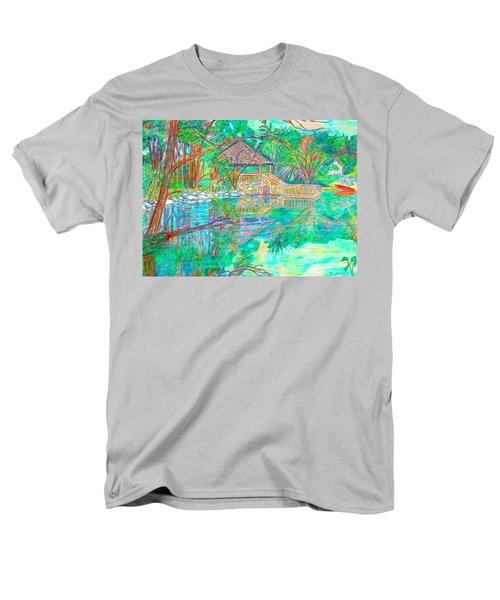 Mountain Lake Reflections T-Shirt by Kendall Kessler