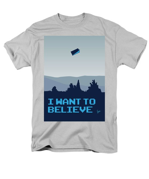 My I want to believe minimal poster- tardis T-Shirt by Chungkong Art