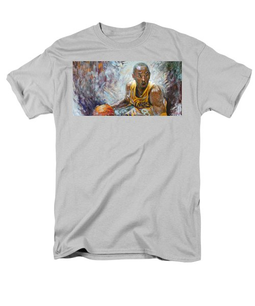 NBA Lakers Kobe Black Mamba T-Shirt by Ylli Haruni