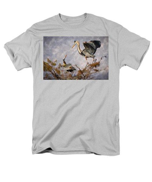 Nesting Time T-Shirt by Debra and Dave Vanderlaan