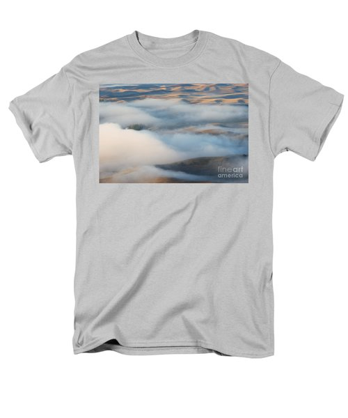Palouse Morning Mist T-Shirt by Mike  Dawson