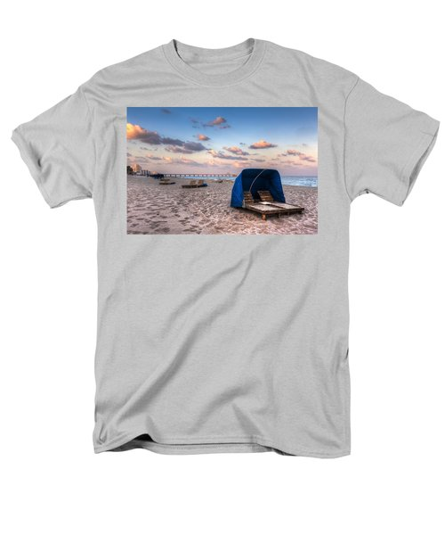 Pink Sands T-Shirt by Debra and Dave Vanderlaan