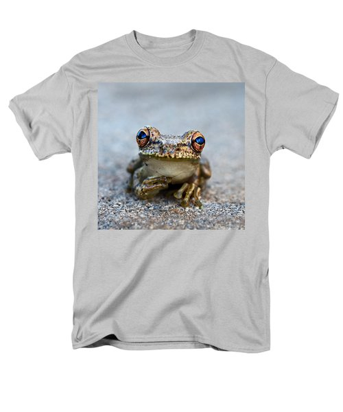 pondering frog T-Shirt by Laura  Fasulo