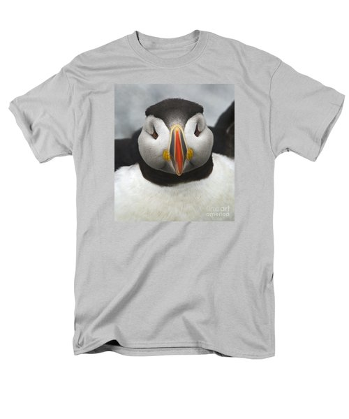 Puffin It Up... Men's T-Shirt  (Regular Fit) by Nina Stavlund