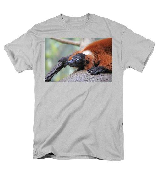 Red-Ruffed Lemur T-Shirt by Karol  Livote