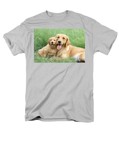 Relaxing Retrievers T-Shirt by Greg Cuddiford