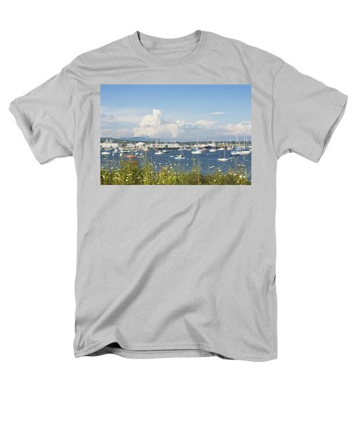 Rockland Harbor on the Coast of Maine T-Shirt by Keith Webber Jr
