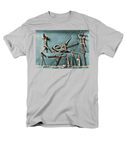 Men's T-Shirt  (Regular Fit) featuring the photograph Roman Surgical Instruments, 1st Century by Science Source