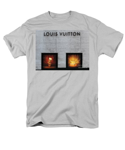 San Francisco Louis Vuitton Storefront - 5D20546-2 T-Shirt by Wingsdomain Art and Photography