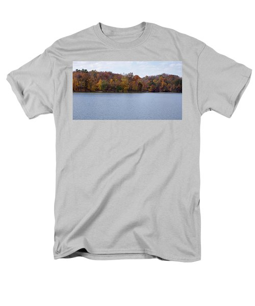 Scales Lake in Autumn T-Shirt by Sandy Keeton
