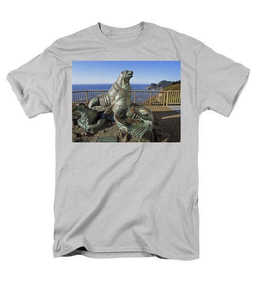 SEA LION CAVES - OREGON T-Shirt by Daniel Hagerman