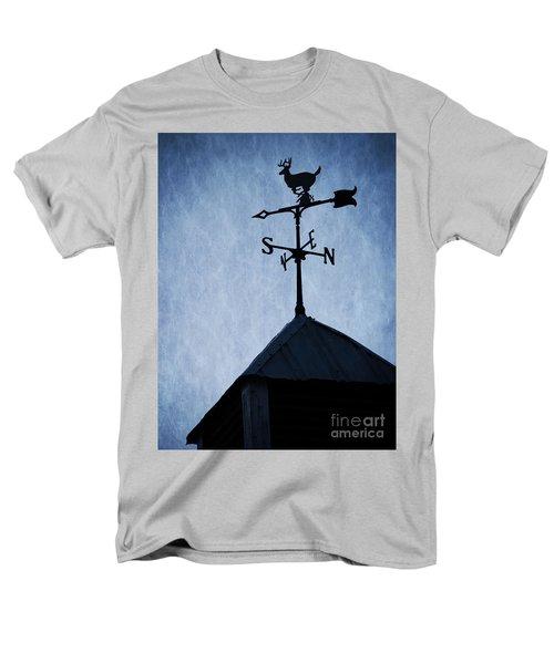 Skyfall Deer Weathervane  T-Shirt by Edward Fielding