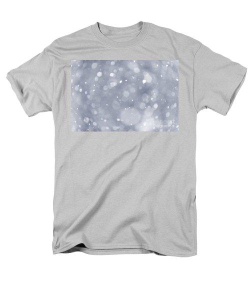 Snowfall background T-Shirt by Elena Elisseeva