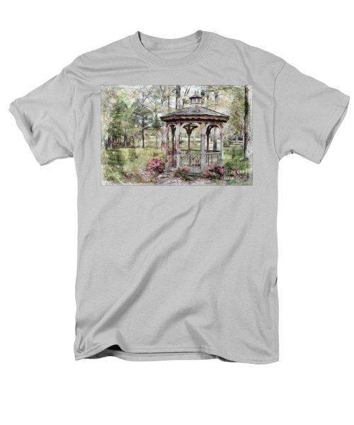 Spring Gazebo painteffect T-Shirt by Debbie Portwood