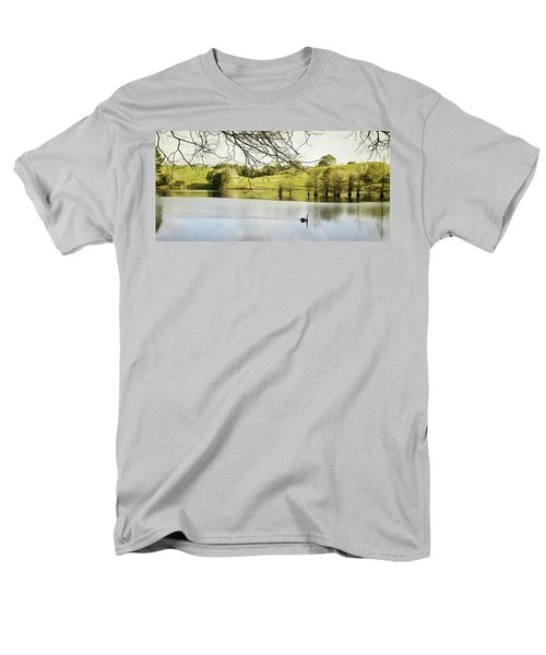 Swan T-Shirt by Les Cunliffe