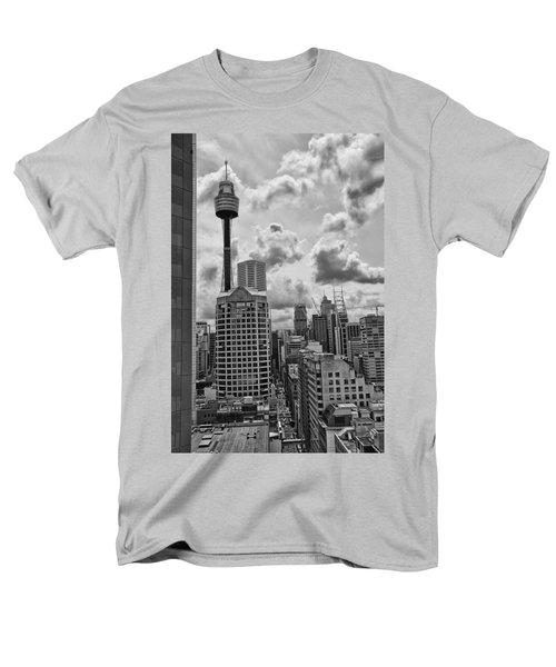 Sydney Skyline Men's T-Shirt  (Regular Fit) by Douglas Barnard