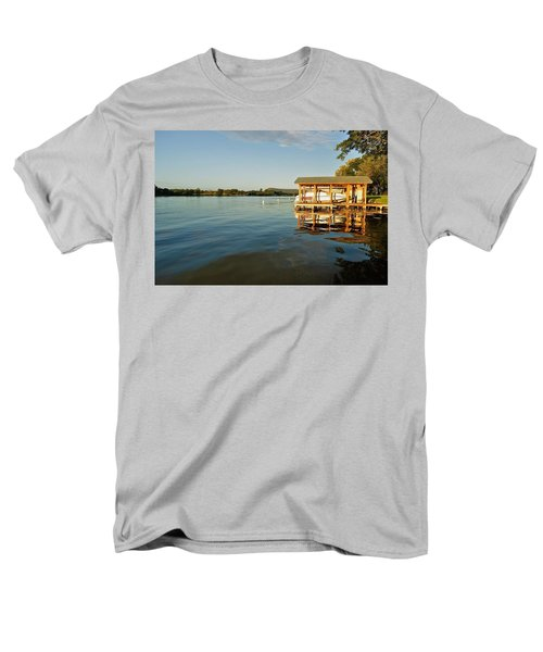 Texas Hill Country Lake T-Shirt by Kristina Deane