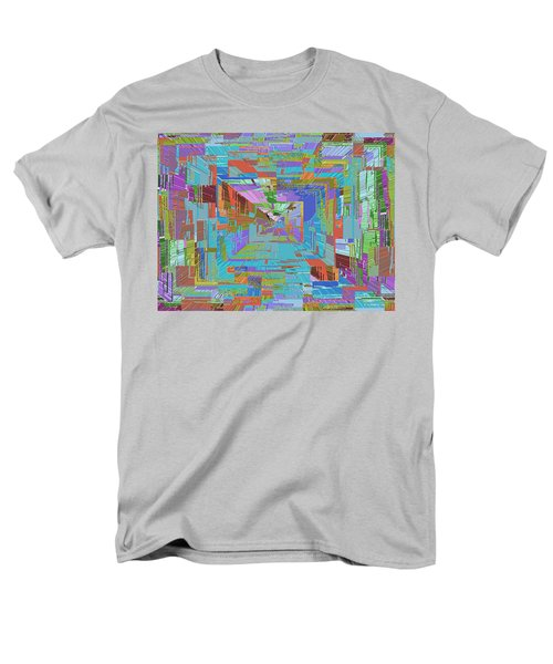 Topographic Albatross Men's T-Shirt  (Regular Fit) by Tim Allen