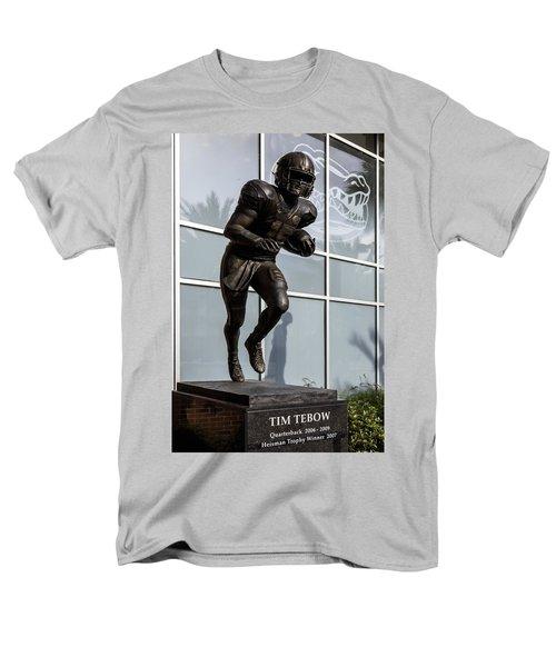 UF Heisman Winner Tim Tebow  T-Shirt by Lynn Palmer