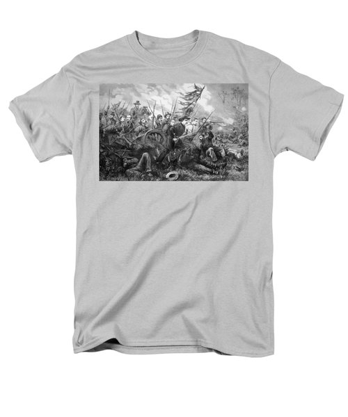 Union Charge At The Battle Of Gettysburg T-Shirt by War Is Hell Store