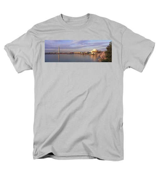 Usa, Washington Dc, Tidal Basin, Spring Men's T-Shirt  (Regular Fit) by Panoramic Images