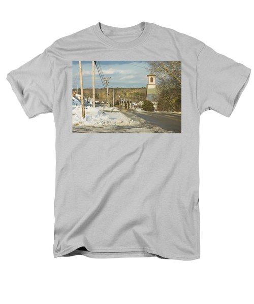 Winter In Round Pond Maine T-Shirt by Keith Webber Jr