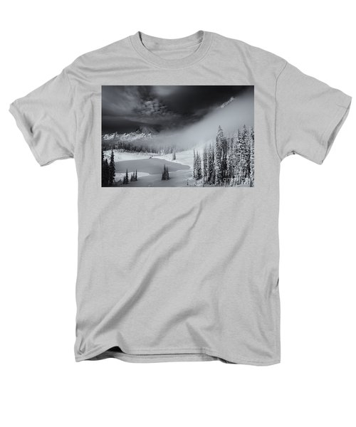 Winter Storm Clears T-Shirt by Mike  Dawson