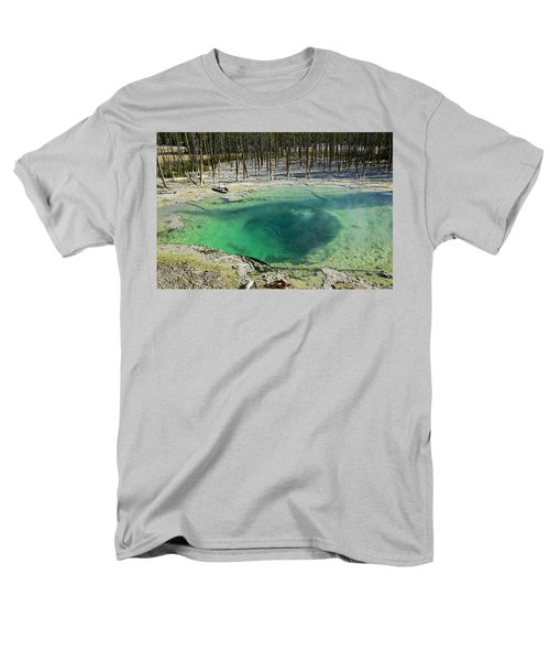 Hot springs Yellowstone National Park T-Shirt by Garry Gay