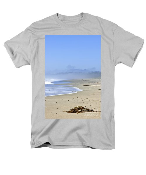 Coast of Pacific ocean in Canada T-Shirt by Elena Elisseeva