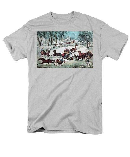 American Winter 1870 T-Shirt by Photo Researchers