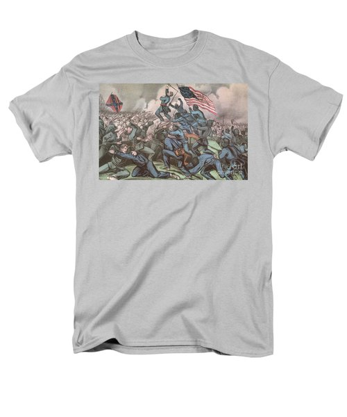Charge Of The 54th Massachusetts T-Shirt by Photo Researchers