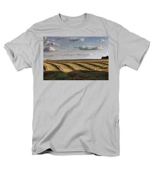 Clouds Over Canola Field On Farm T-Shirt by Dan Jurak