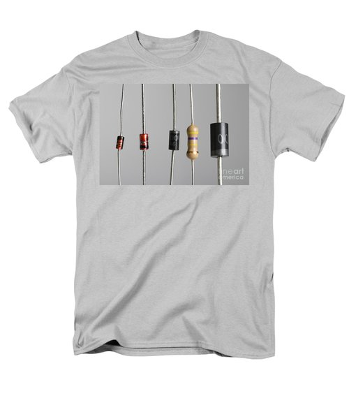 Collection Of Electronic Components T-Shirt by Photo Researchers