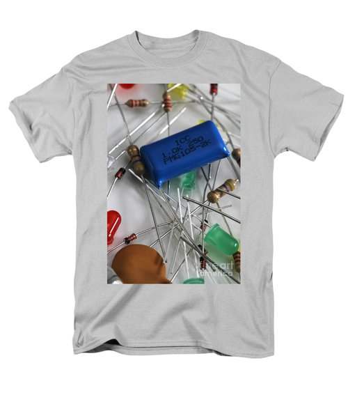 Electronic Components T-Shirt by Photo Researchers, Inc.